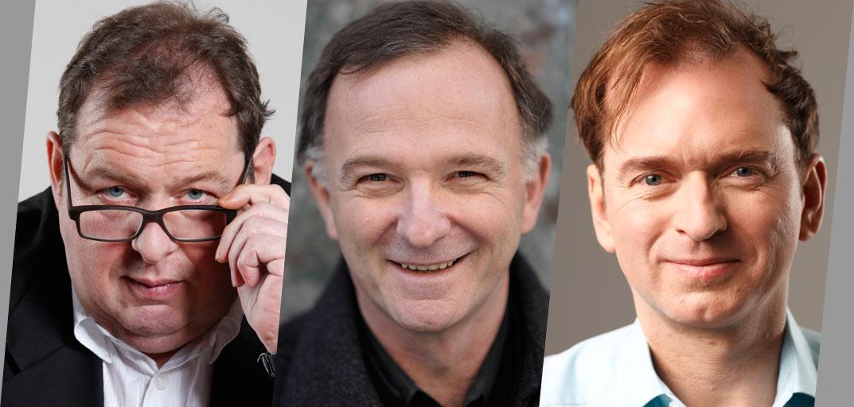Ottfried Fischer, Michael Lerchenberg und Christian Springer am 10.10.2012 um 20:00 - 10574