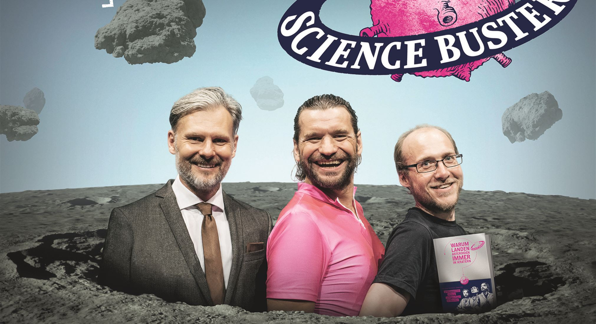 Science Busters am 30.01.2018 um 20:00 Uhr